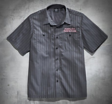 Motors Striped Performance Shirt