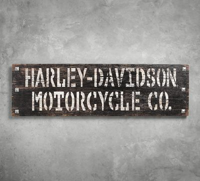 stencil wood sign signs official harley davidson. Black Bedroom Furniture Sets. Home Design Ideas