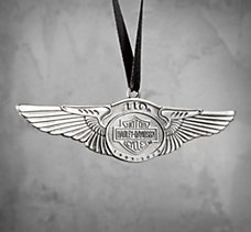 110th Winged Ornament