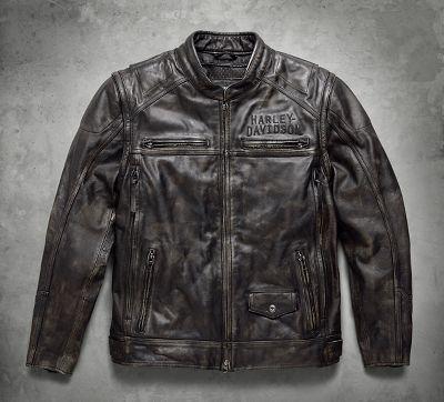 Men's Leather Motorcycle Jackets | Harley-Davidson USA