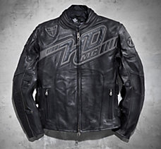 Mile Marker Leather Jacket