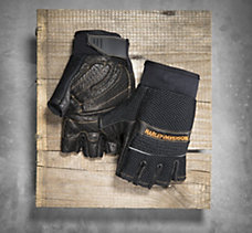 Relay Fingerless Mesh & Leather ...