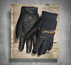Relay Full-Finger Mesh & Leather...