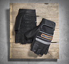 Defender Fingerless Gloves