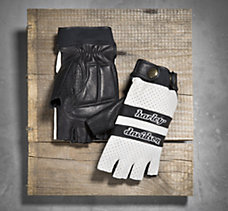 Finish Line Fingerless Gloves