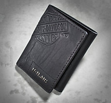 Medallion Tri-Fold Wallet