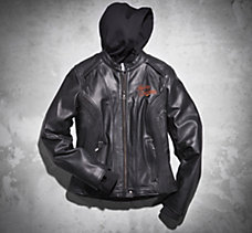 Moxie 3-in-1 Leather Jacket