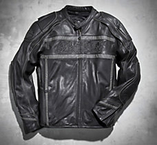 Luminator 360° Leather Jacket