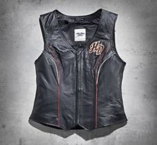 Juneau Leather Vest