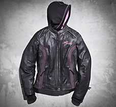 Pink Label 3-in-1 Leather Jacket