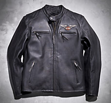 Top Wing Leather Jacket