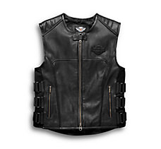 Swat II Leather Vest