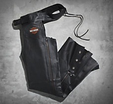 Stock Leather Chaps