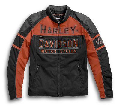 men 39 s gastone riding jacket textile official harley. Black Bedroom Furniture Sets. Home Design Ideas