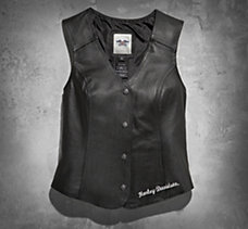 Patches & Pins Leather Vest