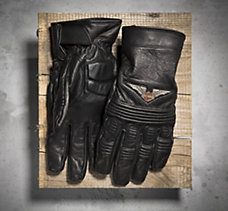 Top Wing Full-Finger Leather Glo...