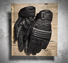 Boiler Full-Finger Leather Glove...