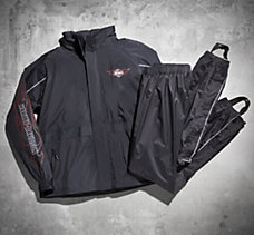 Ride Ready Packable Rain Suit