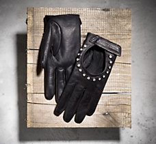 Full-Finger Leather Gloves