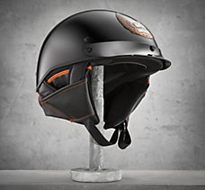 Hybrid 1/2 Helmet with Removable...