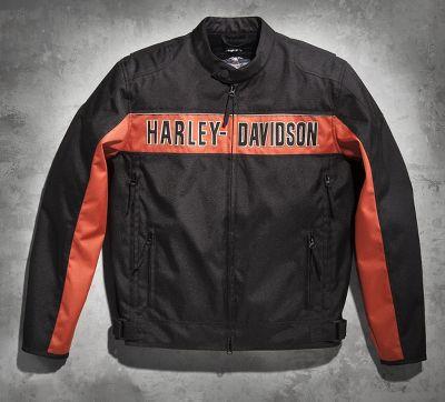 men s route functional jacket textile official harley. Black Bedroom Furniture Sets. Home Design Ideas