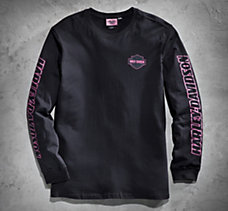Pink Label Long-Sleeve Tee