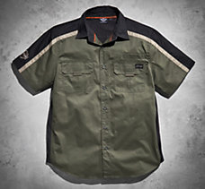 Sleeve Patch Performance Shirt