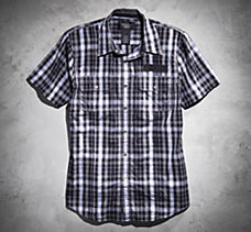 #1 Short-Sleeve Plaid Shirt