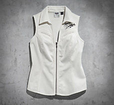 Genuine Wings Sleeveless Shirt