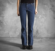 Midnight Navy Bootcut Jeans