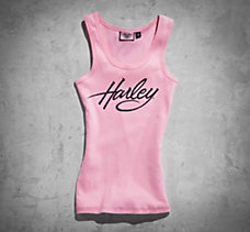Pink Label Embellished Tank
