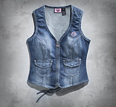 Pink Label Embellished Vest