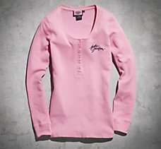 Pink Label Henley