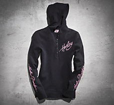 Pink Label Hooded Pullover