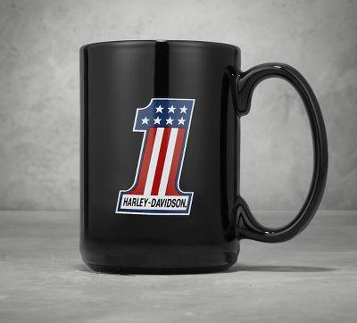 1 ceramic mug coffee mugs official harley davidson. Black Bedroom Furniture Sets. Home Design Ideas