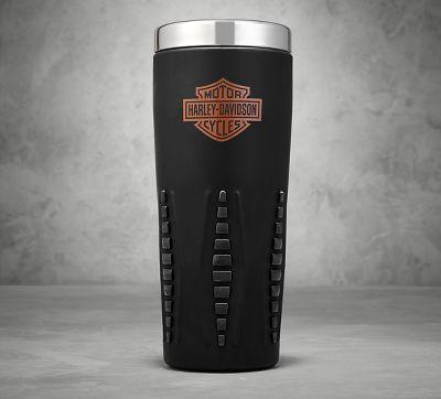 black travel mug travel mugs official harley davidson. Black Bedroom Furniture Sets. Home Design Ideas
