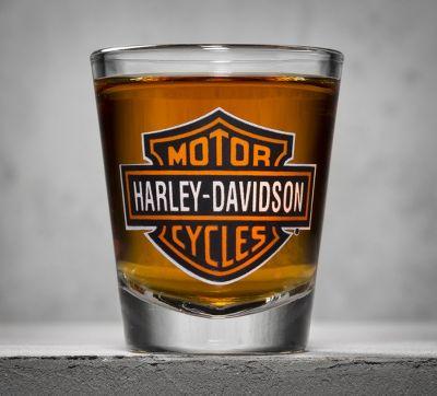 Bar Amp Shield Logo Shot Glass Shot Official Harley