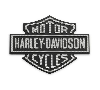 metal adhesive backed medallion 99352 82z decals Harley-Davidson Logo Outline Harley-Davidson Logo Outline