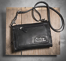 Stacked Emblem Hip Bag