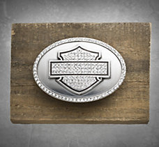 Oval Bar & Shield Buckle