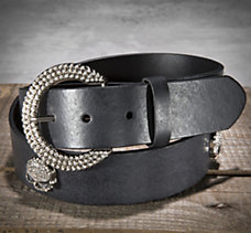 Skull Medallion Belt