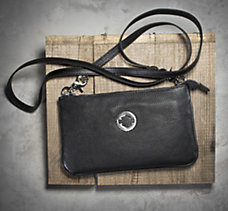 Circle Bar & Shield  Hip Bag