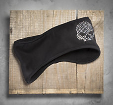 Bling Skull Fleece Earwarmer