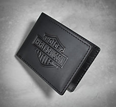 Bar & Shield Flip Fold Wallet