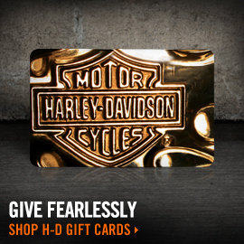 Give an H-D Gift Card today!