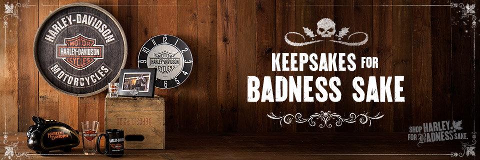 Harley-Davidson Holiday Gift Guide - H-D Keepsakes