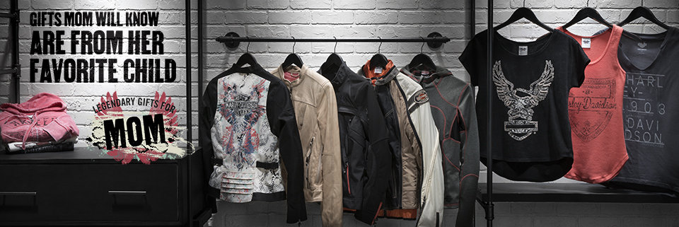 Harley-Davidson Gift Guide Mother's Day Jackets and Sportsware