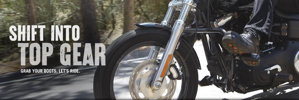 Harley-Davidson Motorcycle Boots