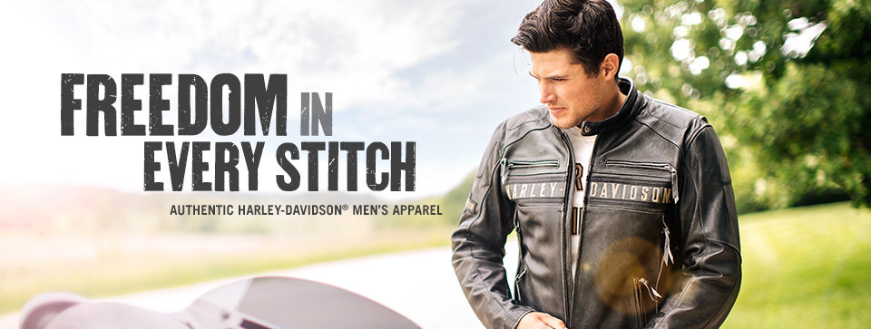 Harley-Davidson Men's Motorcycle Clothes