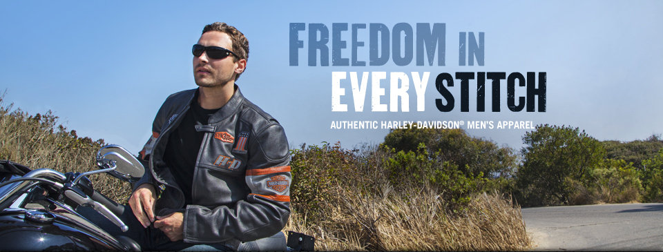 Harley-Davidson Men�s Motorcycle Clothes